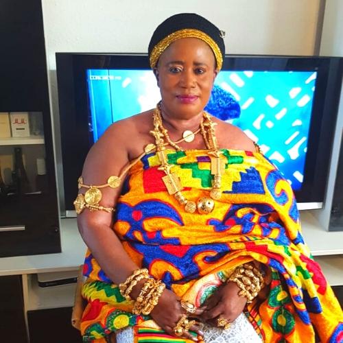 Nana Fremah Toatuo Asanteman Royal Henmaa Duesseldorf